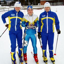 Swedish chapms - skio - bronze medal