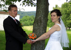 Jirka's and Hanka's wedding in Czech republic.