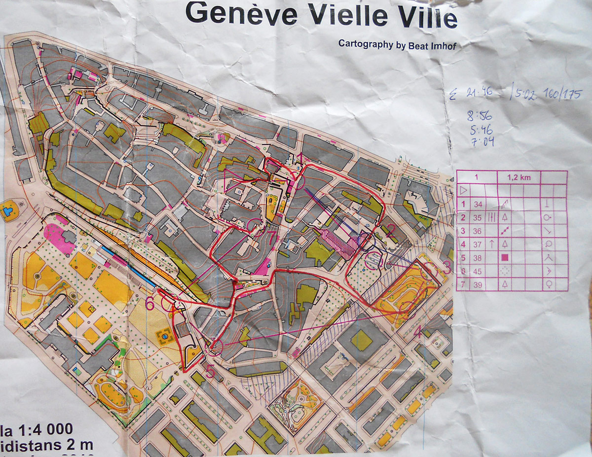 Sprint intervals Geneve (26/06/2012)