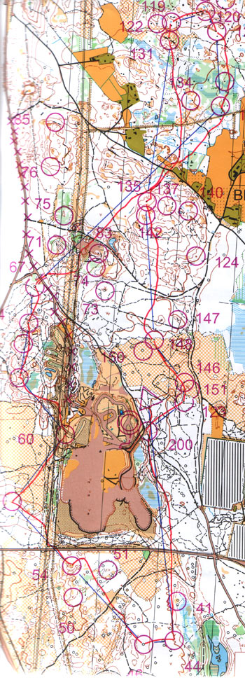 Eva Jurenikova orienteering adventure racing Maps